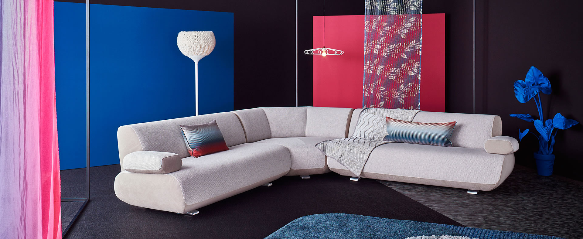 Guadalupe Sectional by Christian Werner for Leolux
