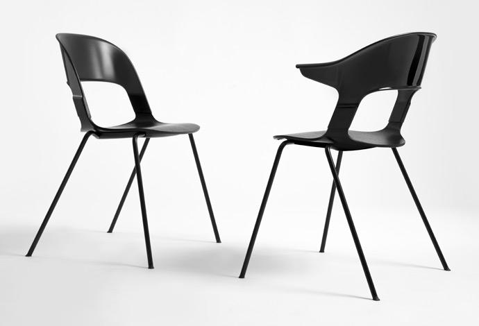 Pair Chair by Benjamin Hubert & Layer for Fritz Hansen