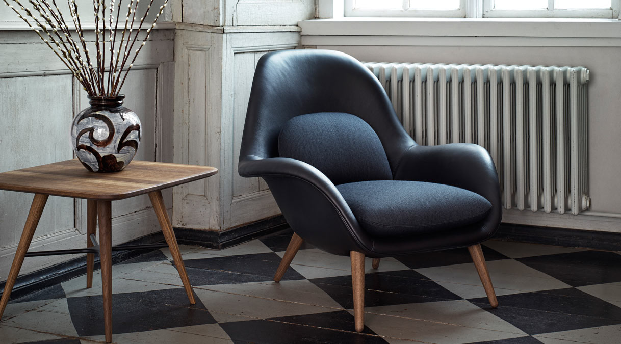 Swoon Lounge Chair By Space Copenhagen For Fredericia