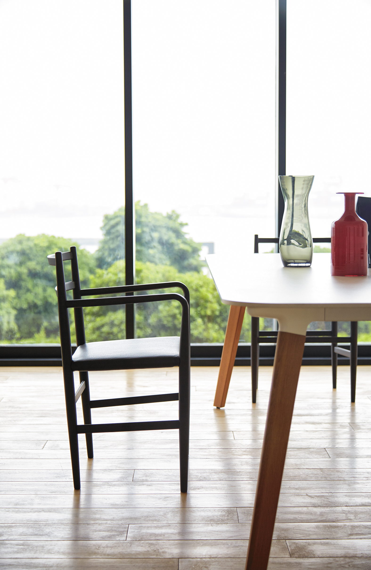 Root Chairs by Jin Kuramoto for Arflex Japan