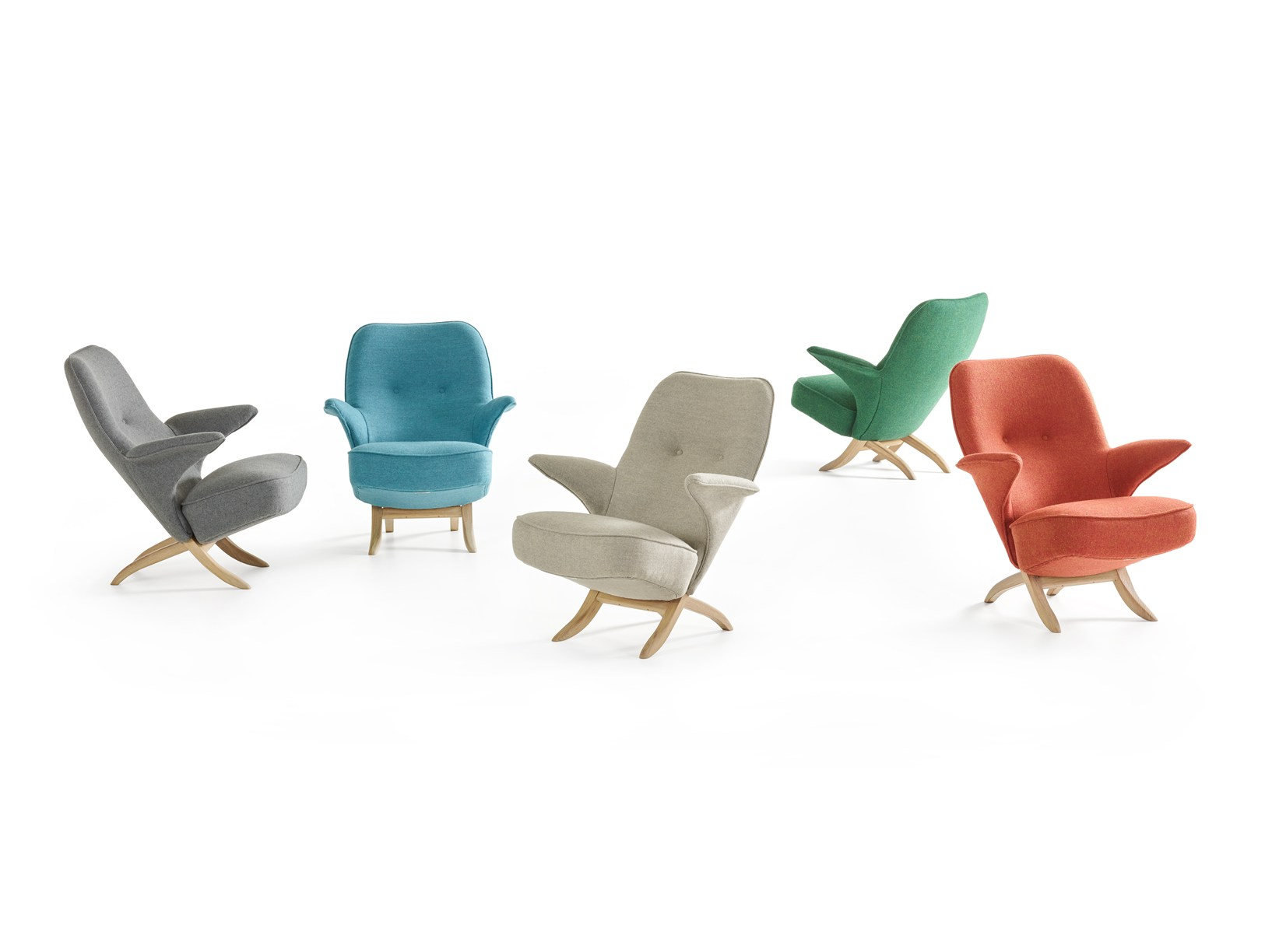 Pinguïn Chairs by Theo Ruth for Artifort