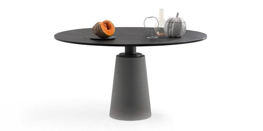 Mesa Table by Lella & Massimo Vignelli for Poltrona Frau