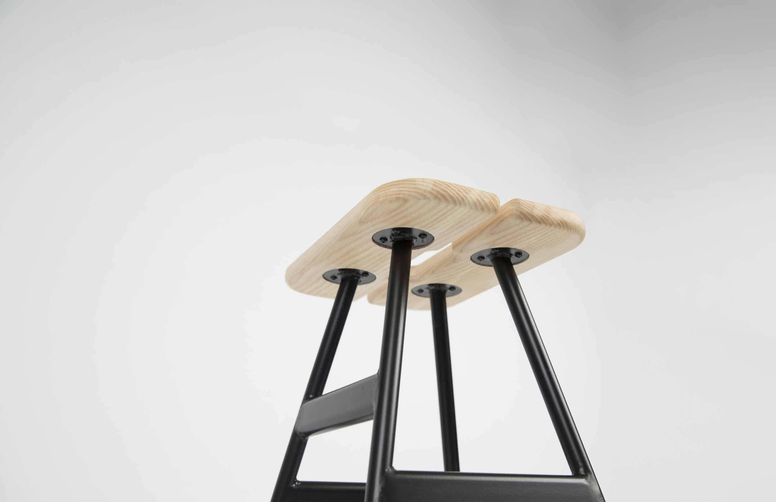 Rift Barstool by George Riding