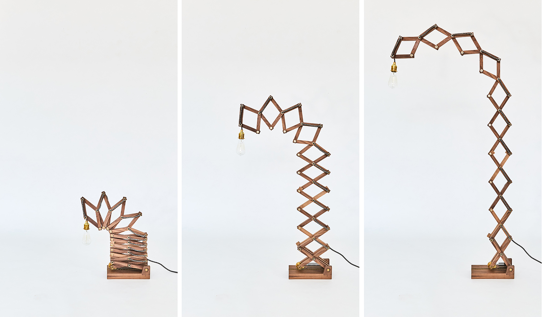 Crane Lamp by Animaro
