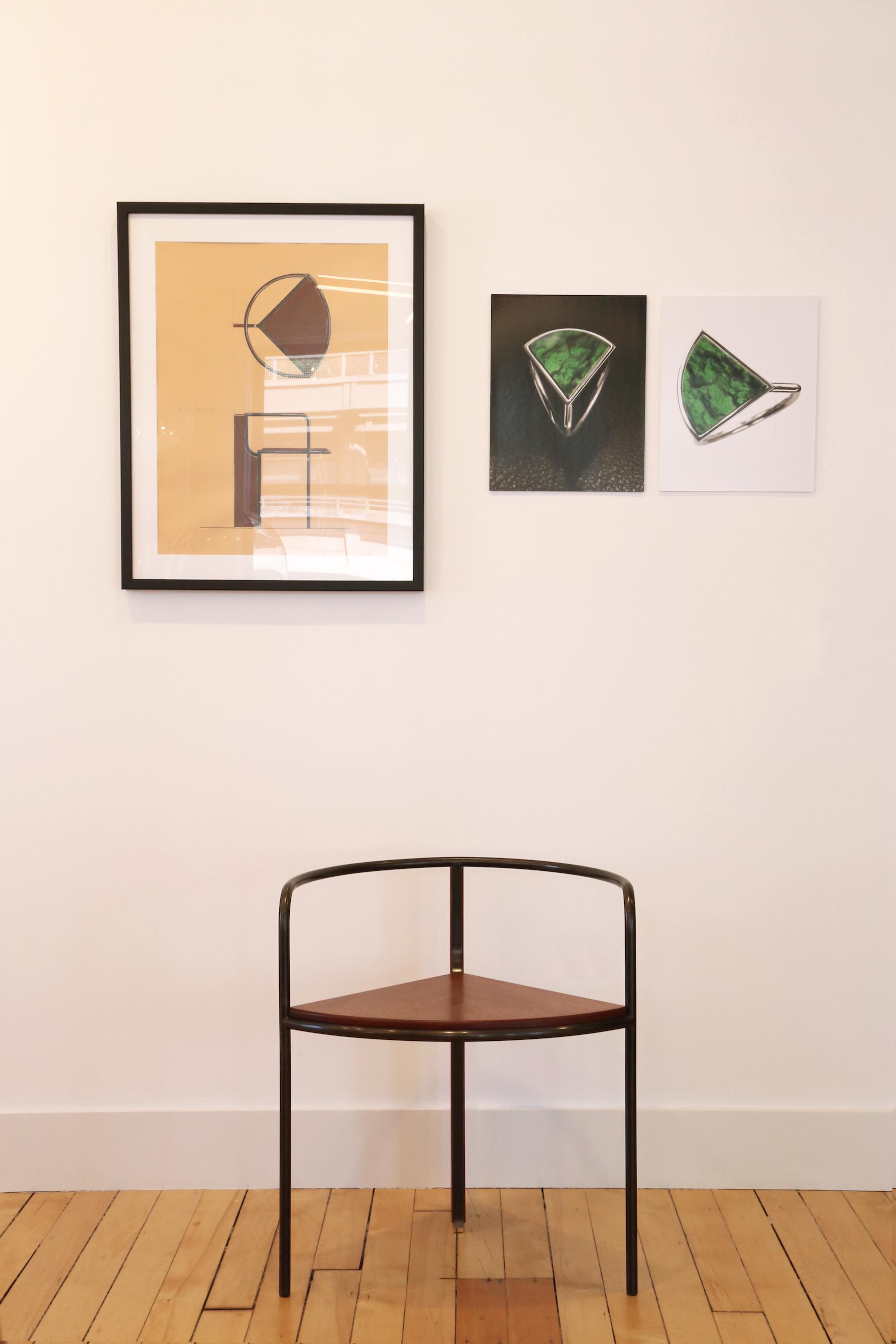 Fin Chair by PELLE