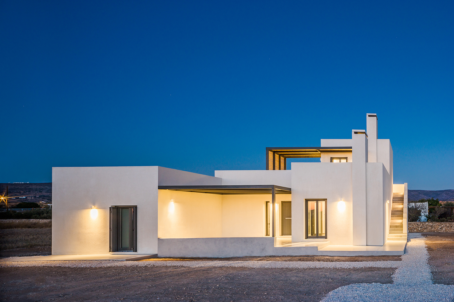 Kampos House in Paros, Greece by Lantavos Projects