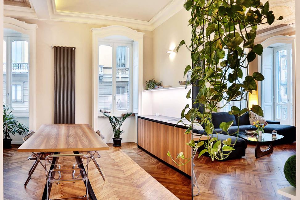 Queen Apartments in Turin, Italy by Officina 8A