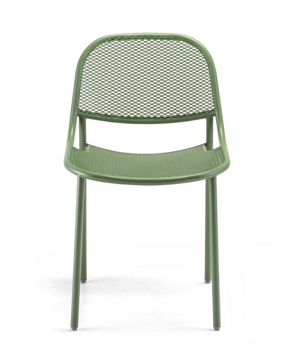Grille Chair by Marcel Sigel