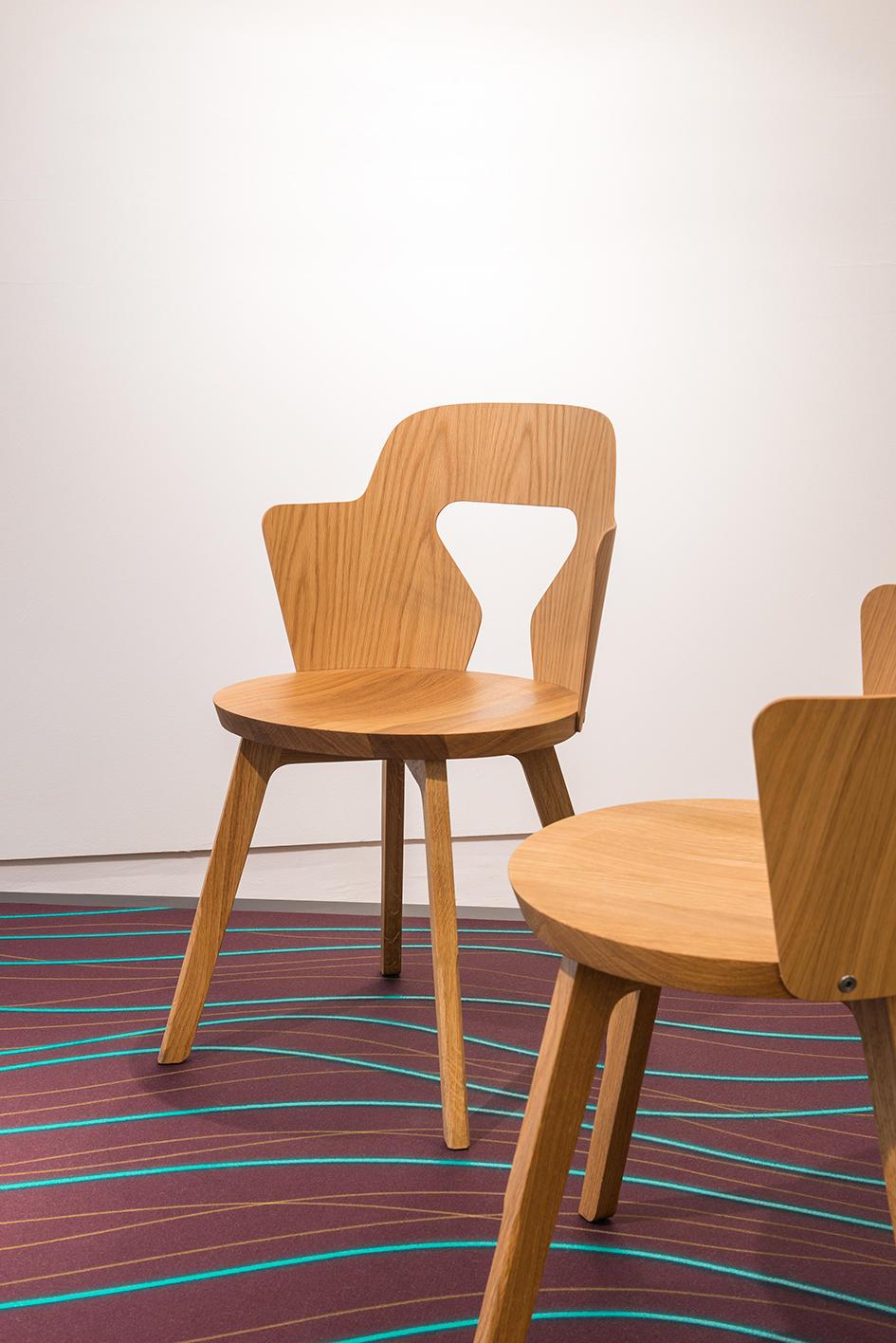 Stammplatz Сhair by Alfredo Häberli for Quodes