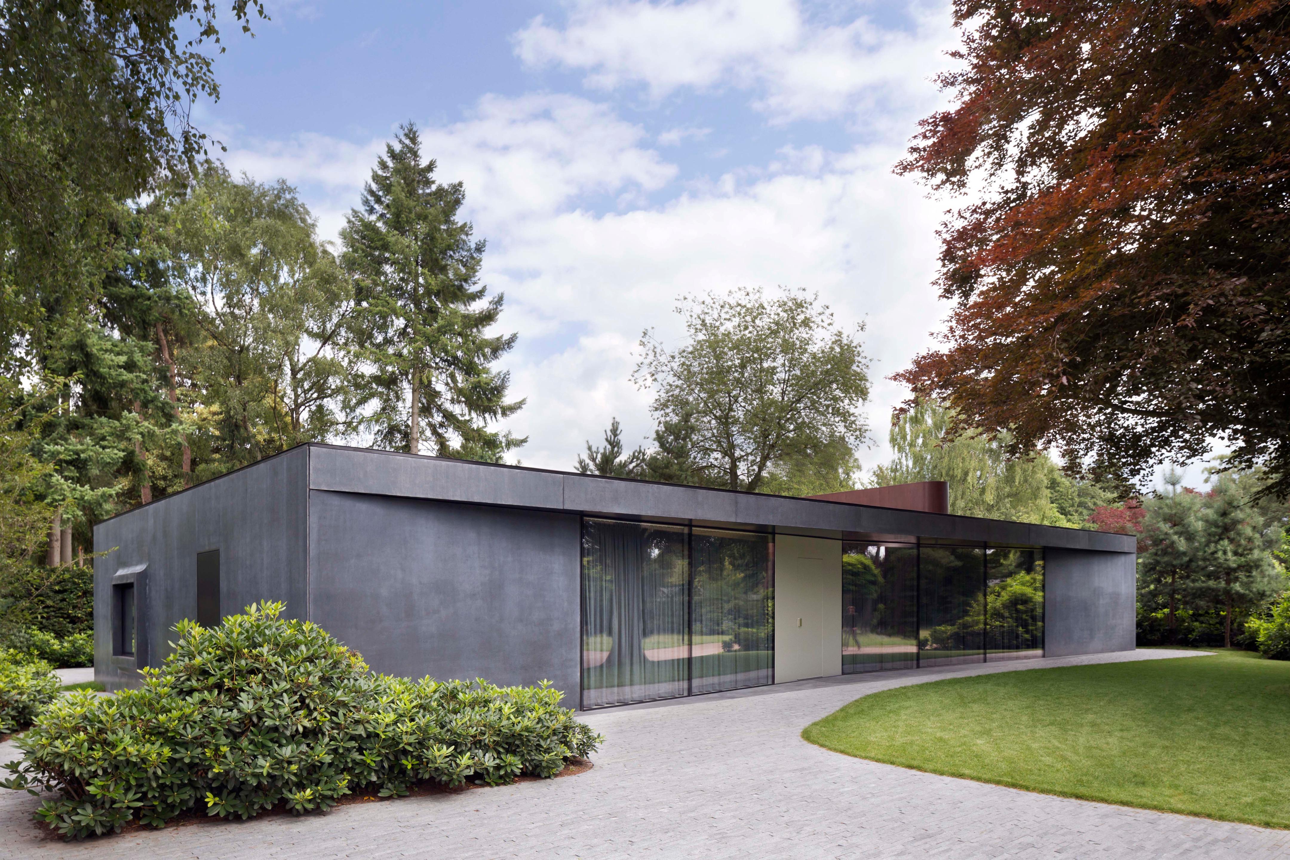 Villa X In Klein Brabant Netherlands By Barcode Architects