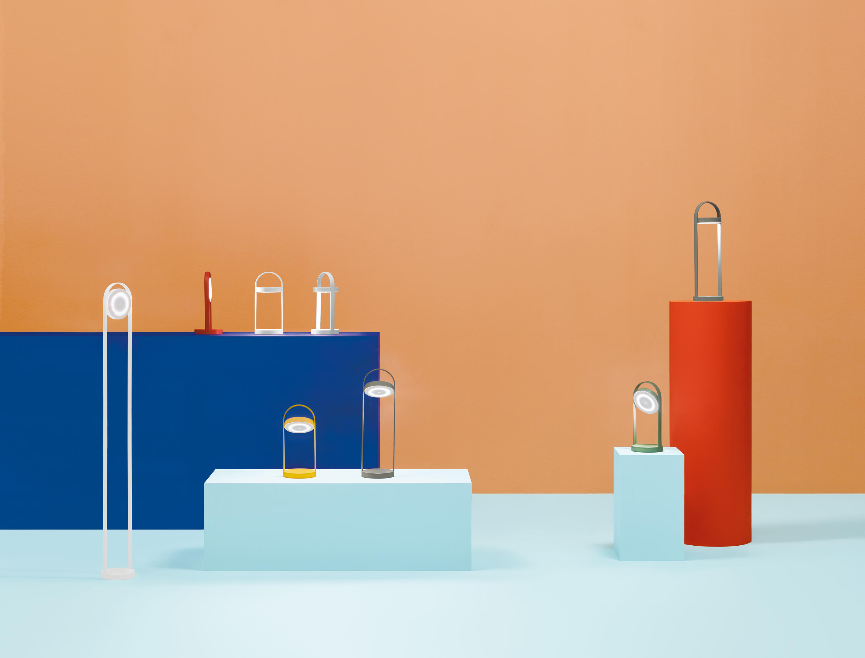 Giravolta Lamp Collection by PEDRALI
