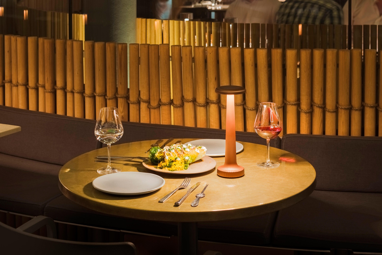 Tall Poppy Table Lamp by Neoz Lighting