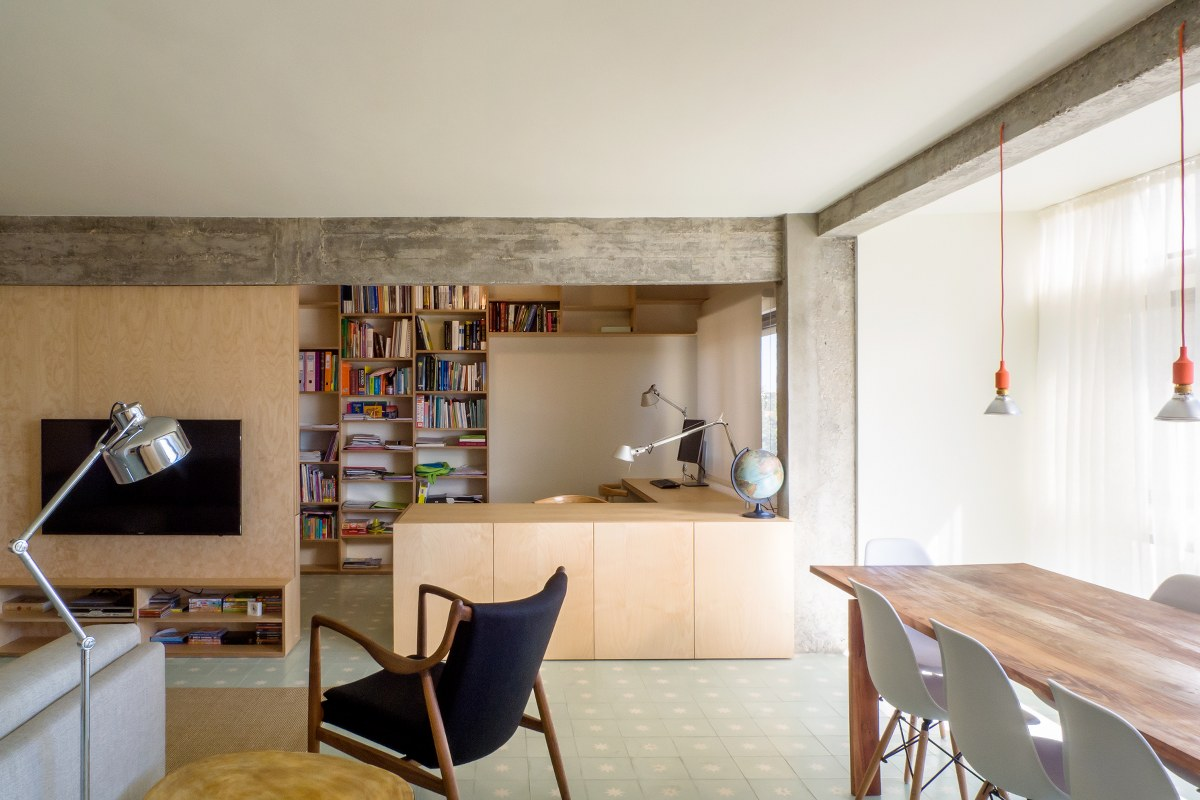 Telheiras Apartment in Lisbon, Portugal by Miguel Marcelino