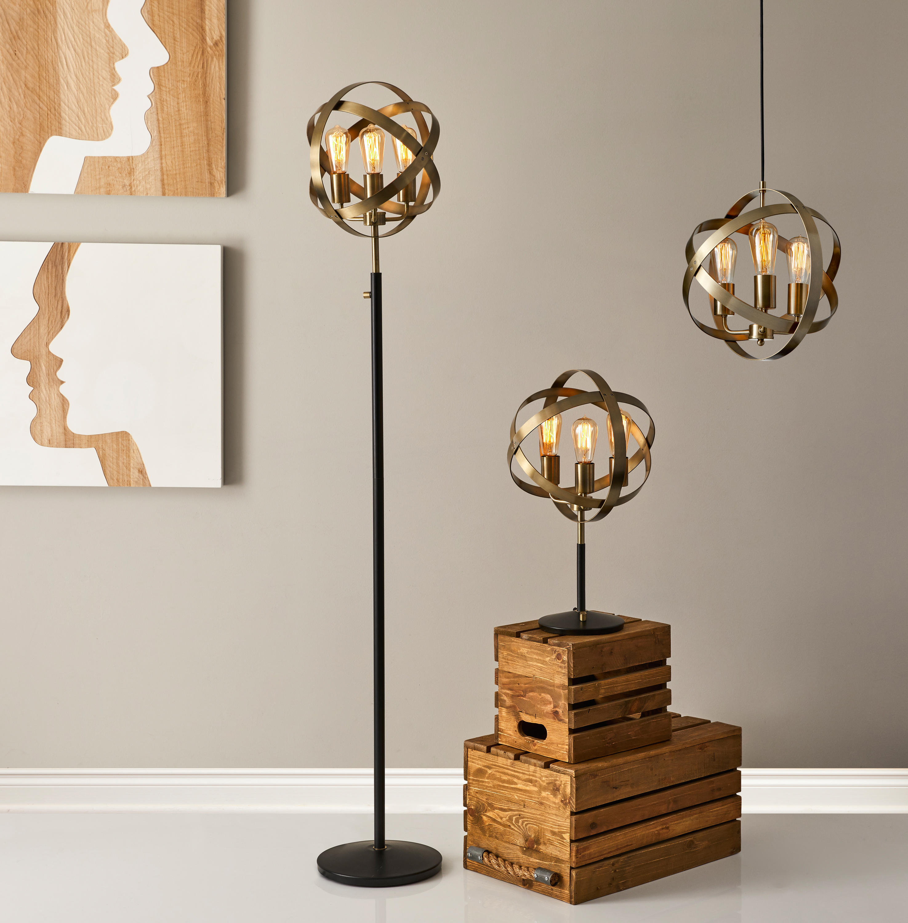 Donovan Lamps by ADS360