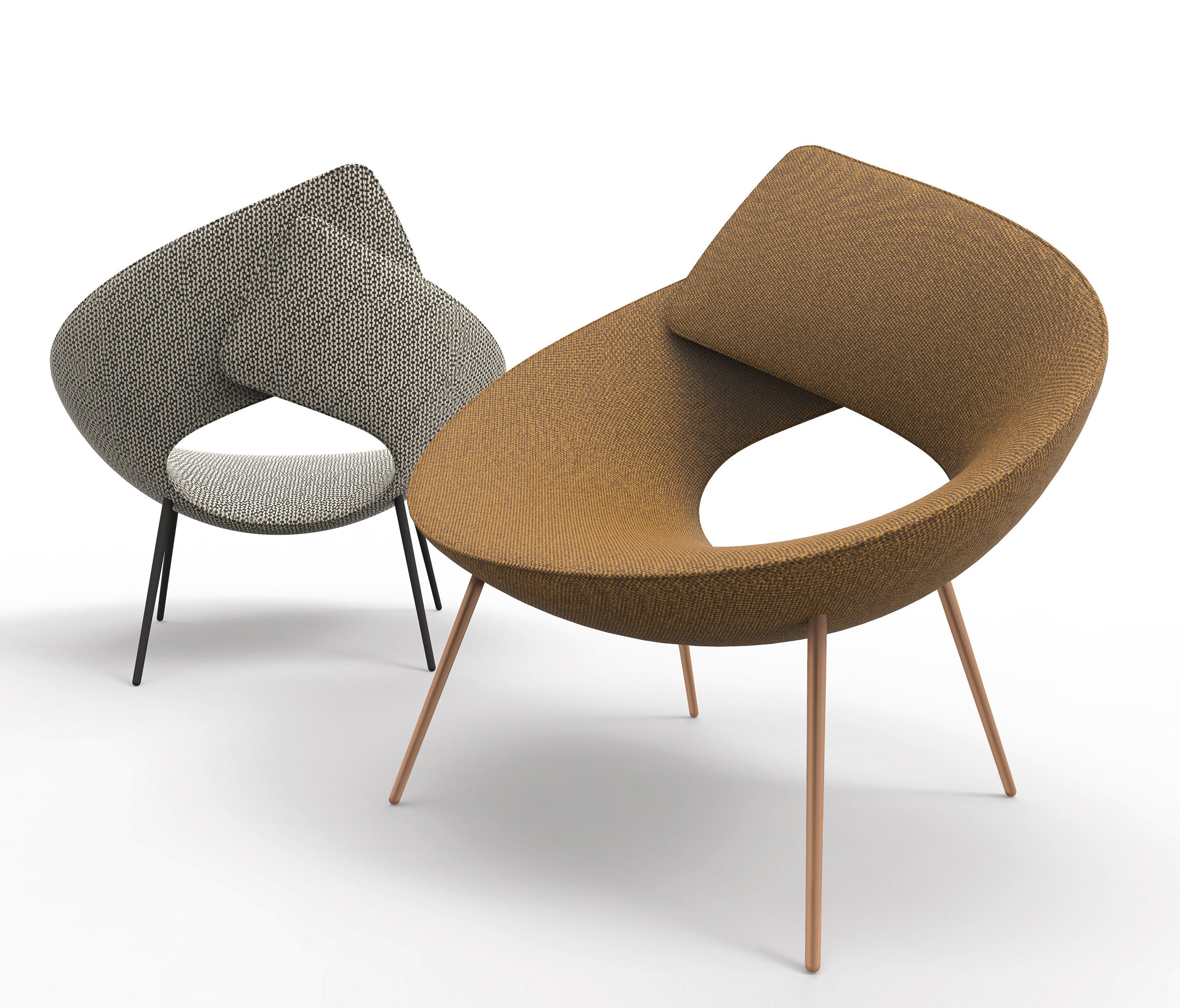 Lock Lounge Chair by Alessandro Busana for Bonaldo