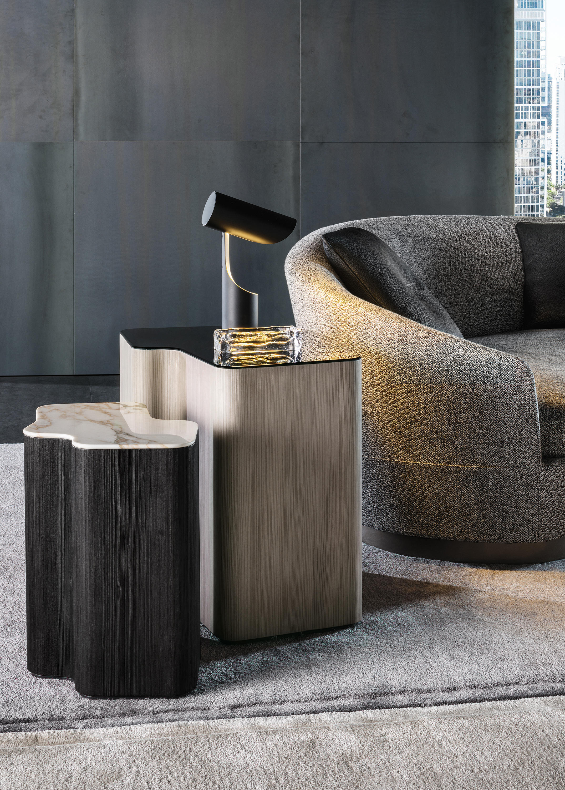 Lou Tables by Christophe Delcourt for Minotti