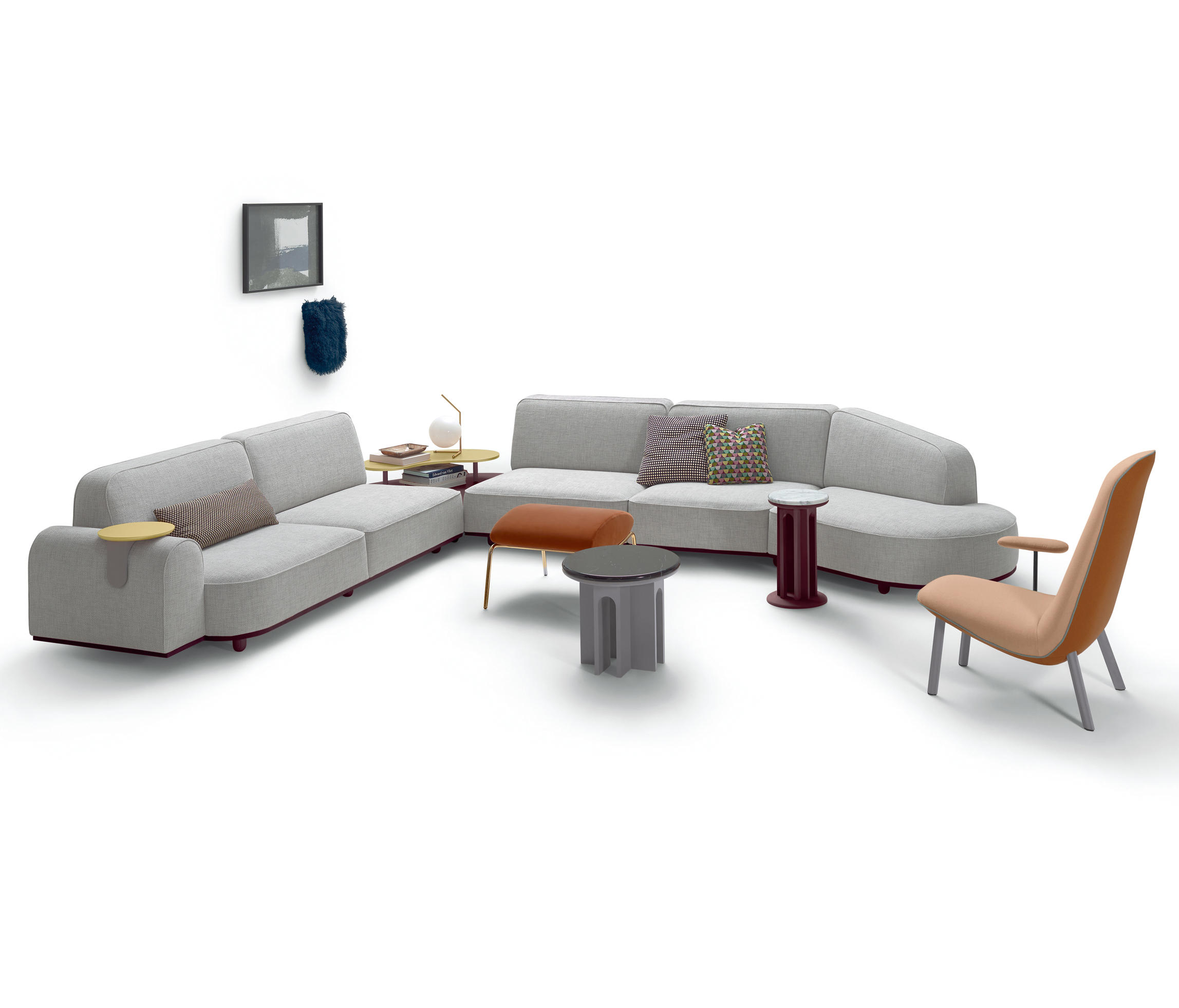 Leafo Armchair by Jaime Hayon for Arflex
