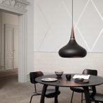 Orient Black Pendant Lamp by Jo Hammerborg & Lightyears
