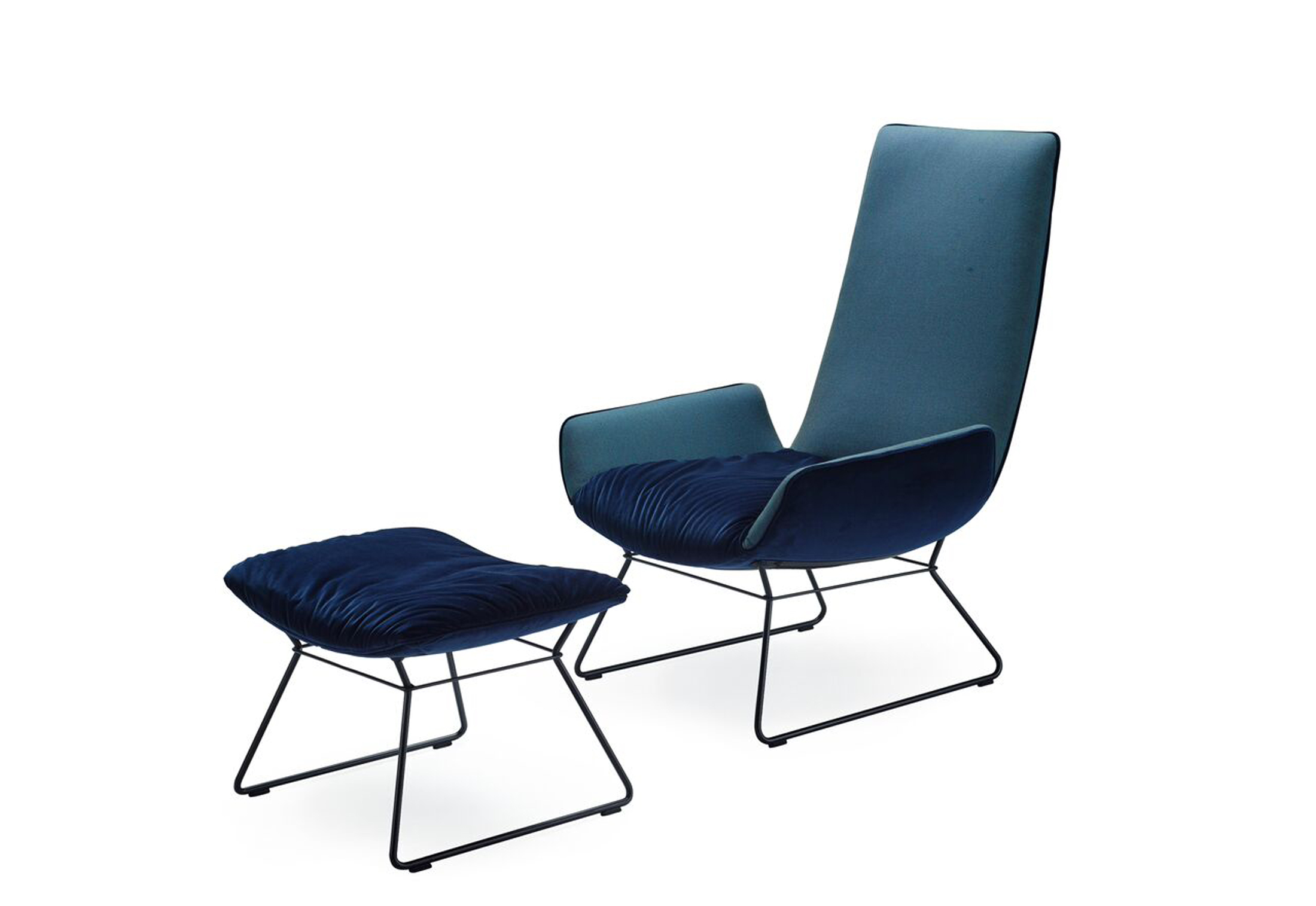 Amelie Lounge Chair by Hoffmann Kahleyss for Freifrau