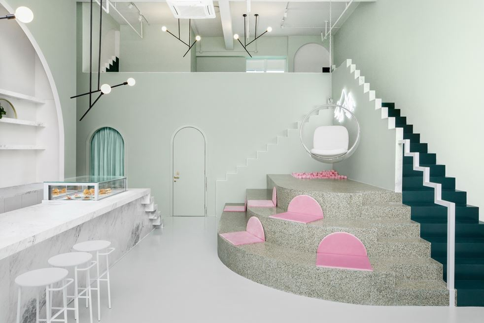 The Budapest Café in Chengdu, China by Biasol