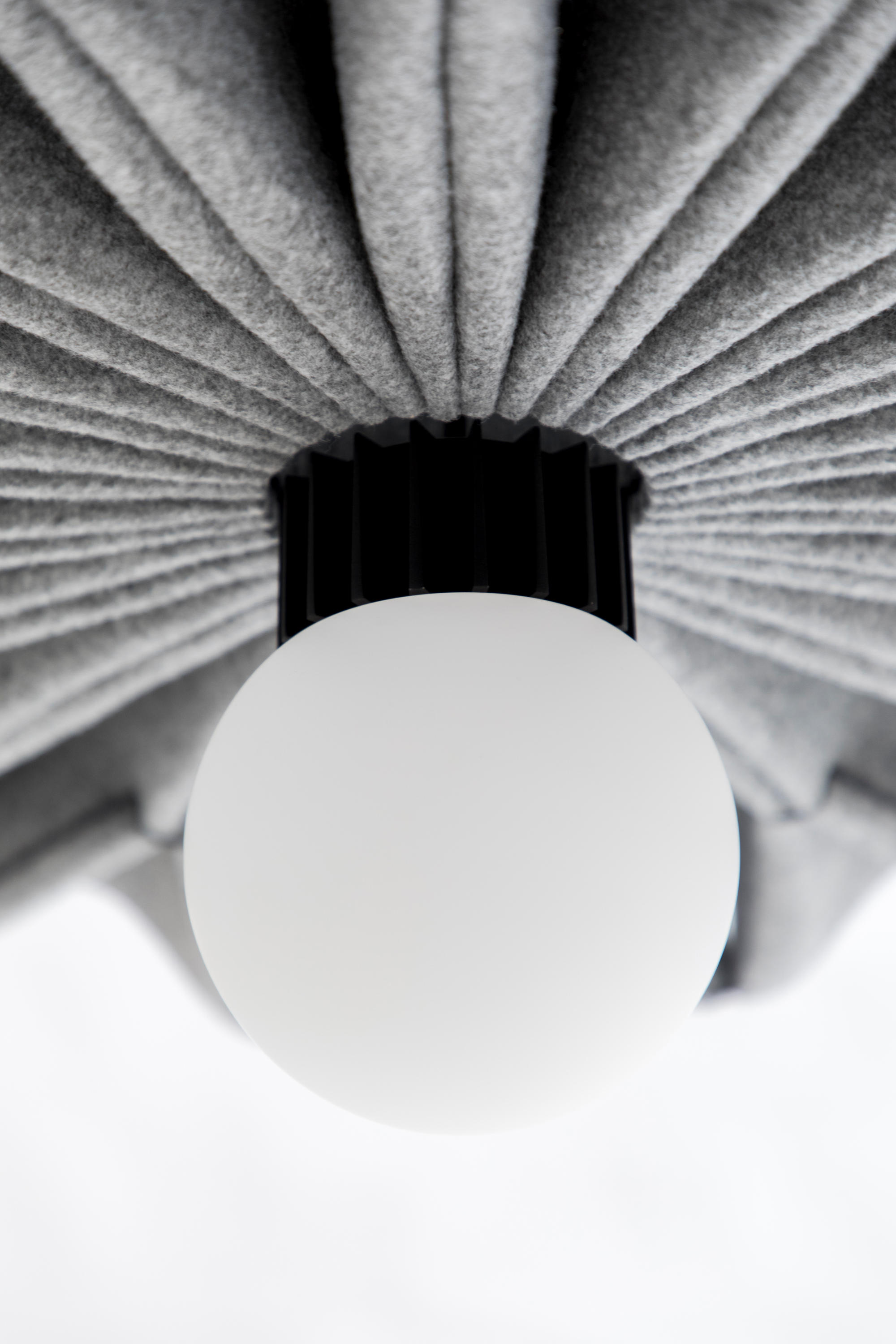 BuzziPleat LED Lamp by 13&9 for BuzziSpace
