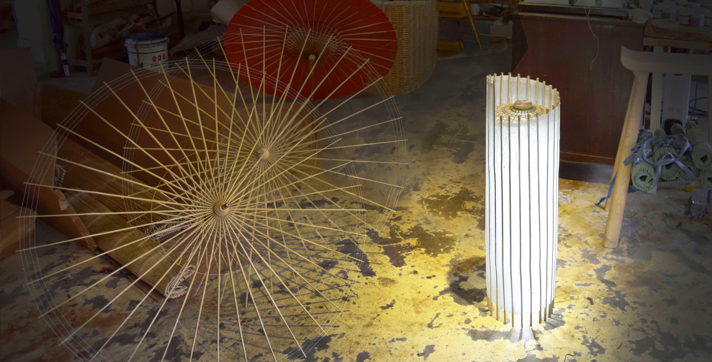 Umbrellamp by Xian Studio