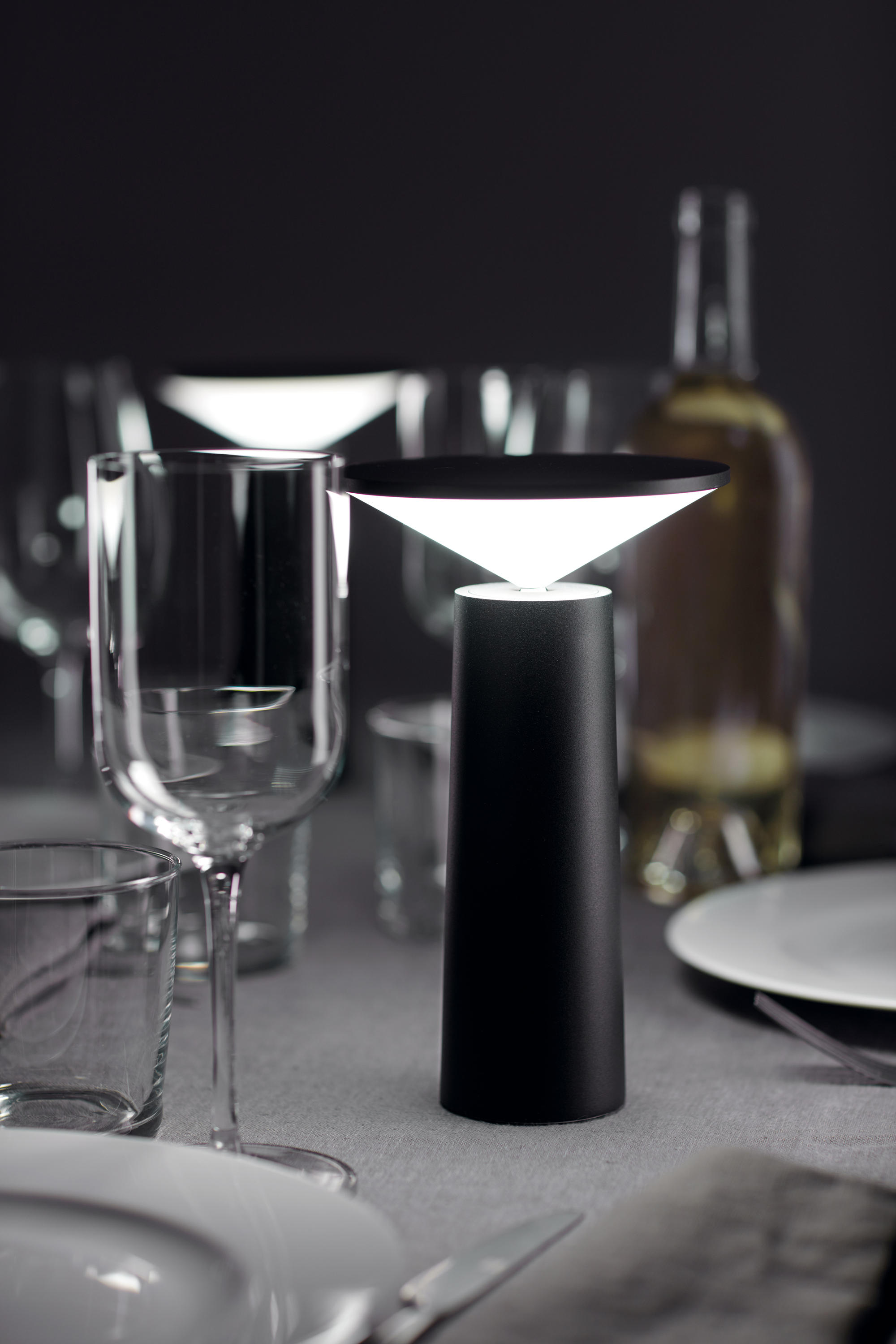 Cocktail Table Lamp by GROK
