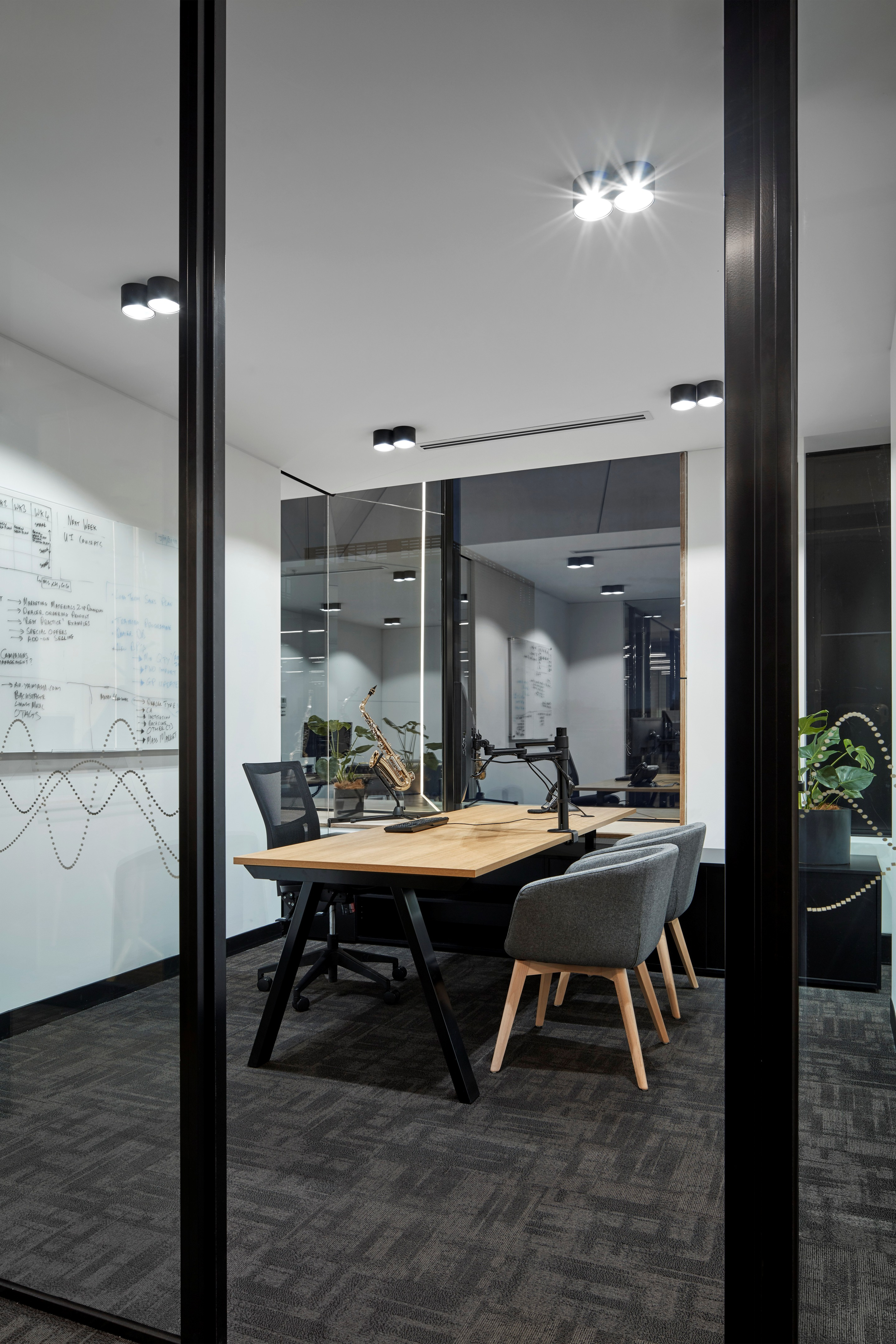 Yamaha Music Office in Melbourne, Australia by STUDIOMINT