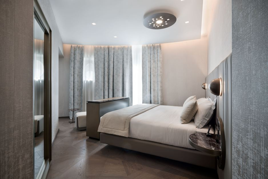 The Pantheon Iconic Rome Hotel, Italy by Studio Marco Piva