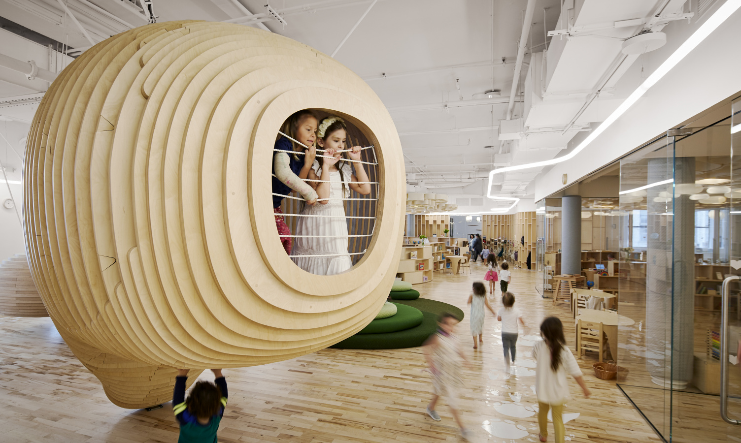 The First WeGrow School in New York by BIG and WeWork