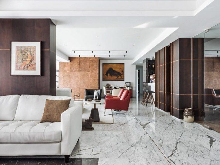 Apartment 701 in India by SHROFFLEÓN