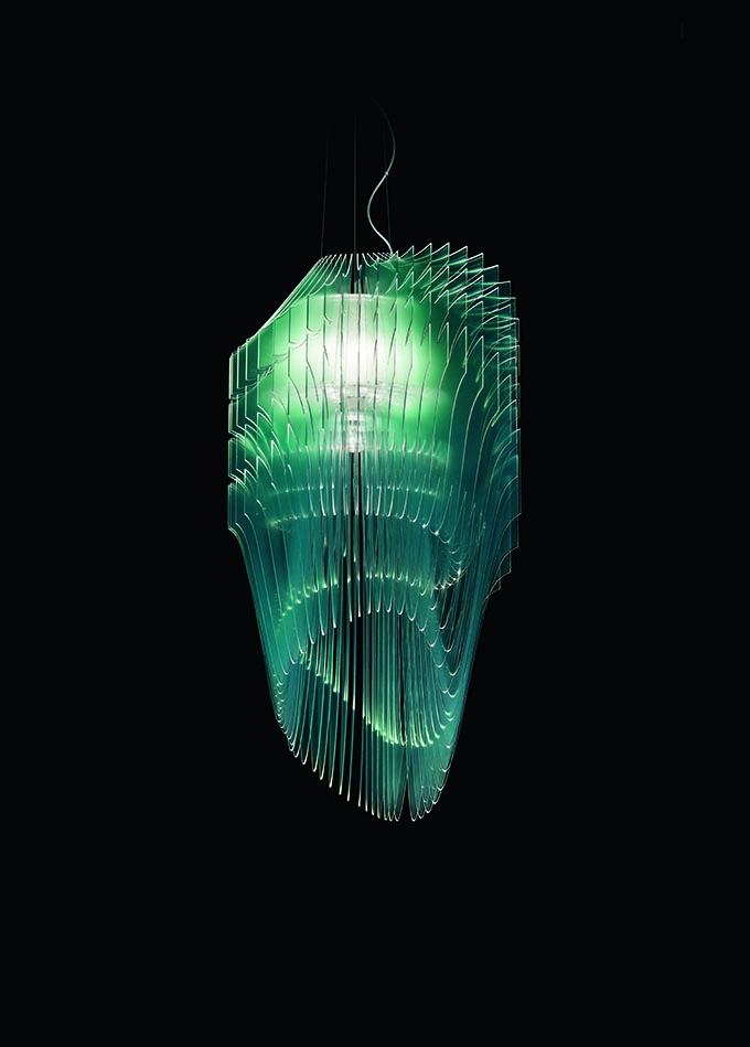 Avia Edition Сhandelier by Zaha Hadid Design, Slamp