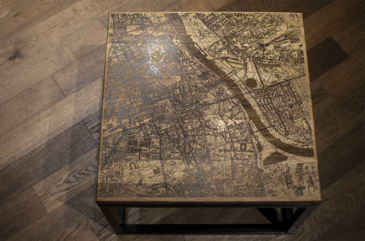 Handcarved Coffee Tables by Woo Design
