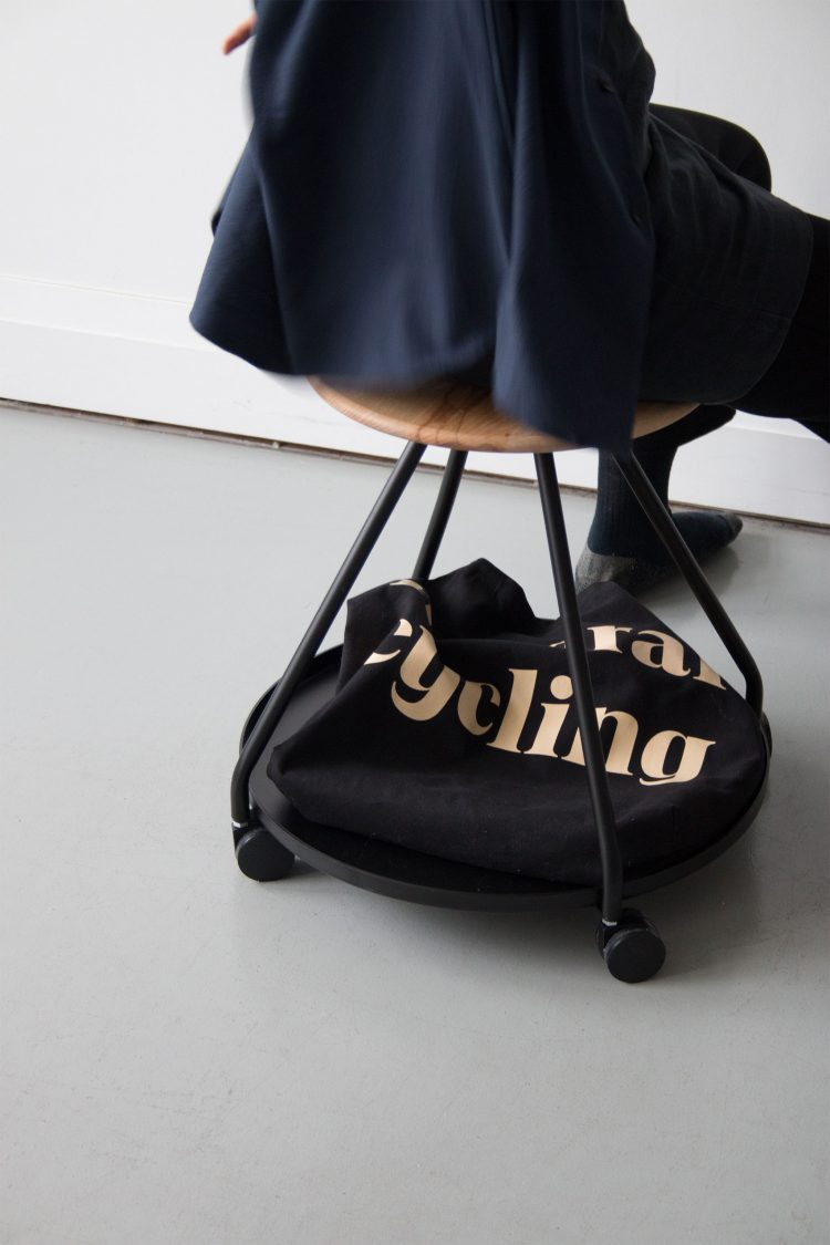 Hover Stool by Tom Chung