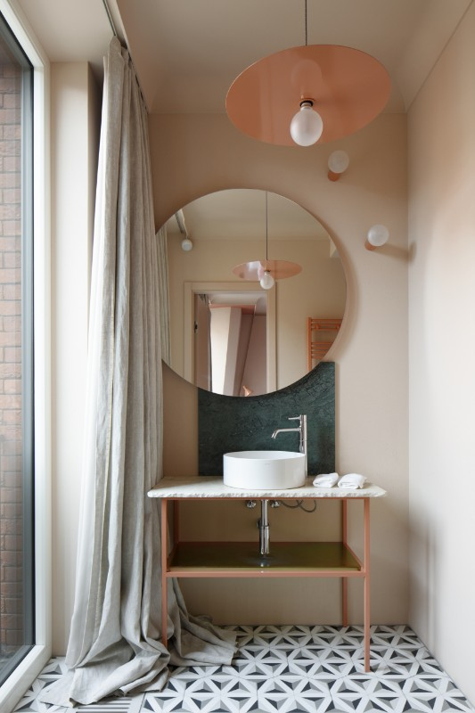 Redstone Boutique Hotel in Riga, Latvia by Anna Butele and Berta Lerhe