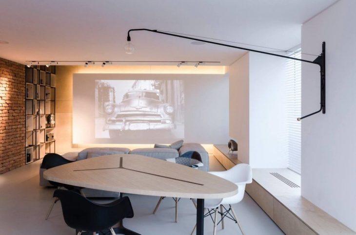 Soft Loft Apartment in Chisinau, Moldova by Line Architects