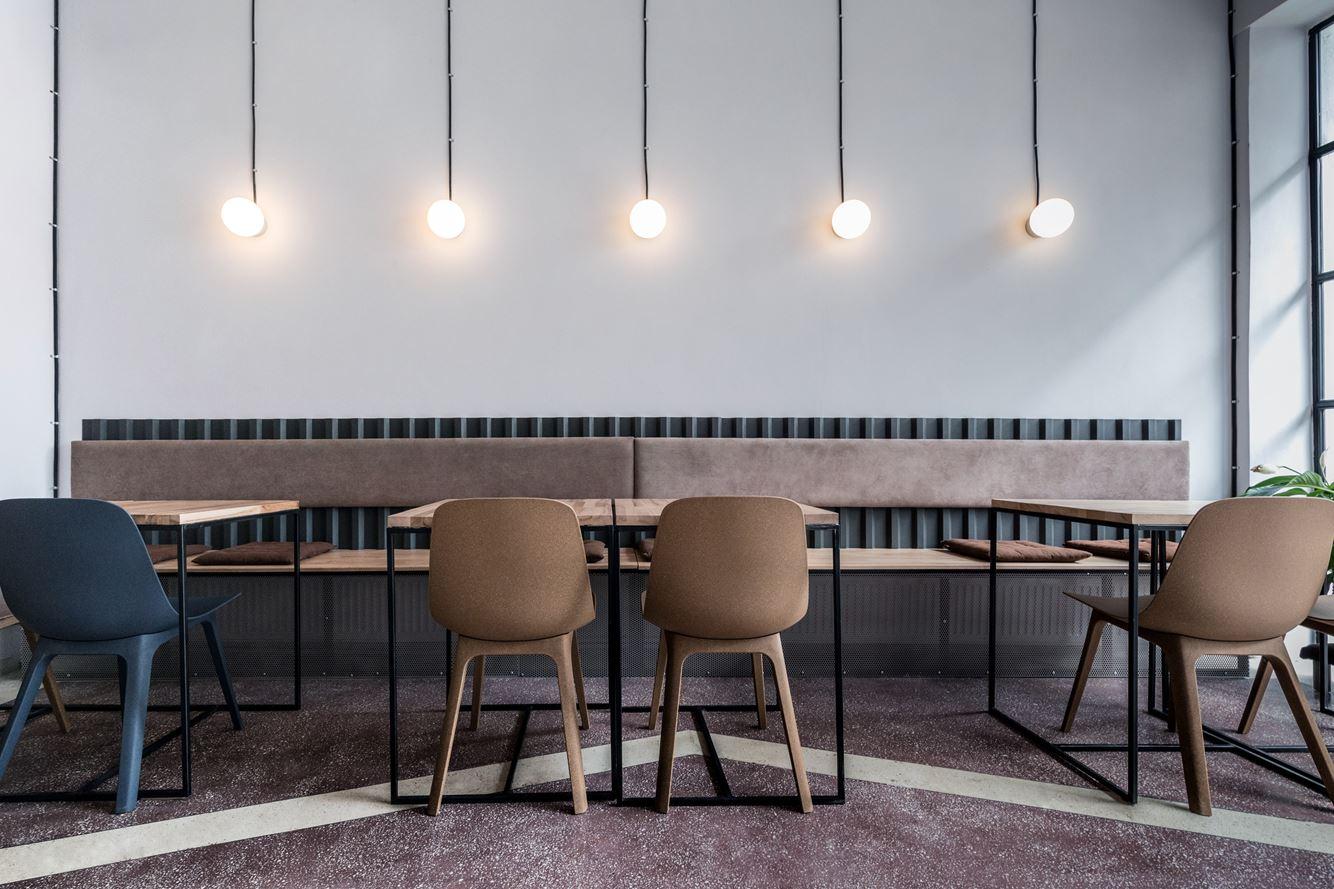 Soto A Cafe Bar In Bucharest Romania By 441 Design Studio