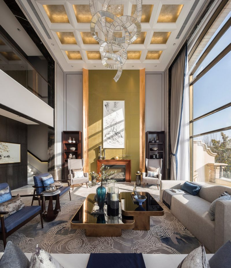 Yuhua Showflat in Zhengzhou City, China by FAN Life Studio