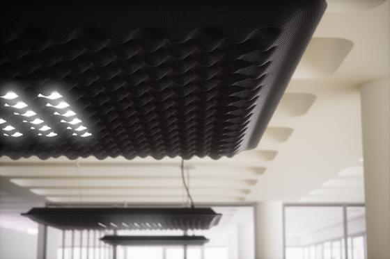 Eggboard Matrix Pendant Lamp by Artemide