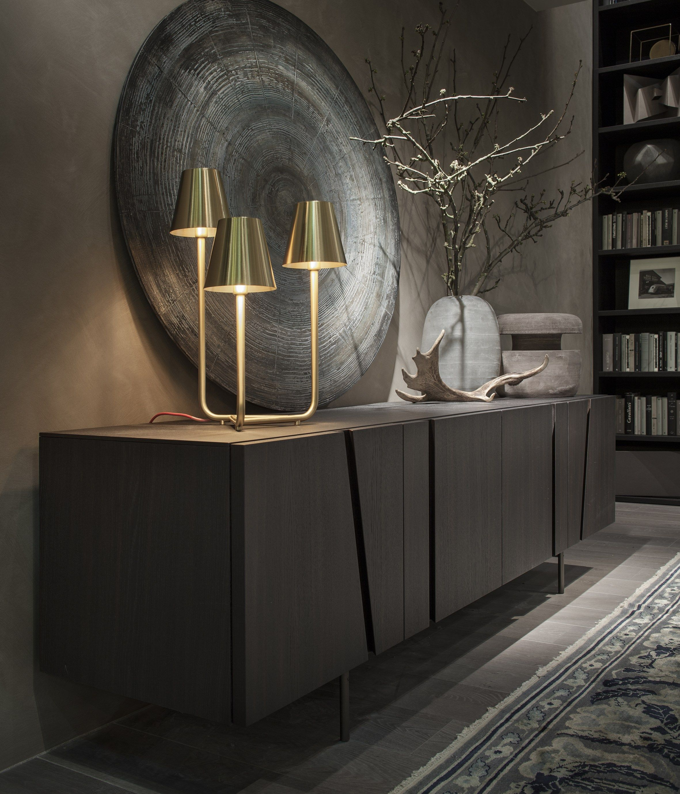 Picture Oak Sideboard by Cairoli & Donzelli for Lema