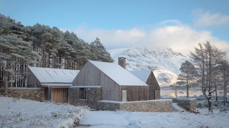 Larch Cottage in Scotland, United Kingdom by Haysom Ward Miller