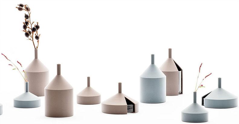 Unfinished Vases by Kazuya Koike for Doogdesign