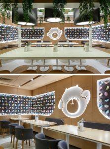 BAO MOCHI Restaurant in Saint Petersburg, Russia by Marat Mazur Interior Design