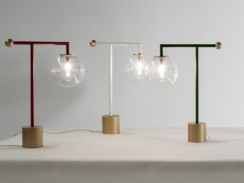 Bardot Table Lamp Designed by Laura Cazzaniga and Ilaria Limonta