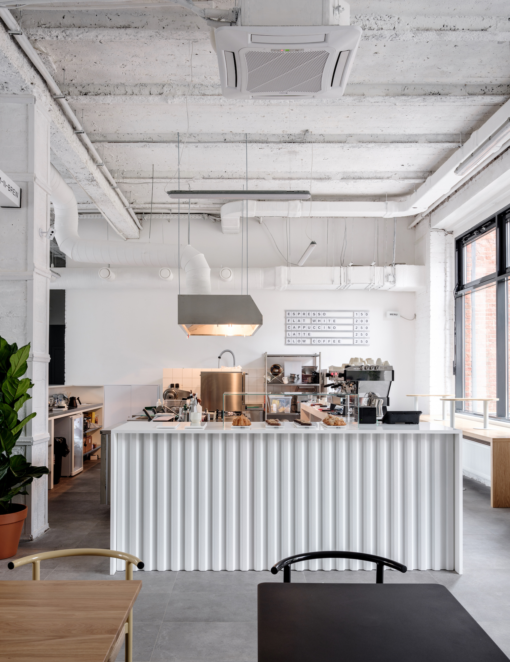 Bloom-n-Brew in Moscow, Russia by Maxim Maximov from Asketik Studio