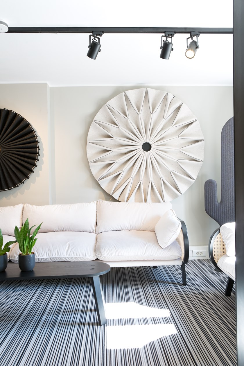 BuzziPleatBuzziPleat Acoustic Panel by 13&9 Design for BuzziSpace