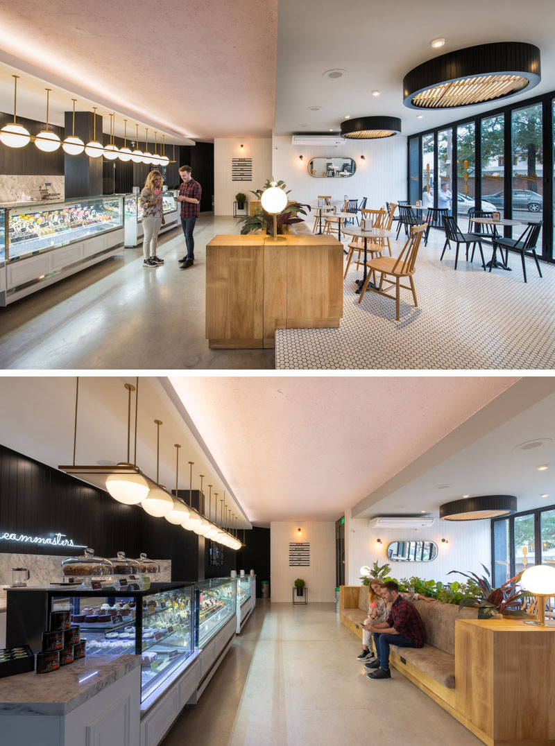 Lucciano's Ice Cream Café In Argentina by FERRO & ASSOC. Architects