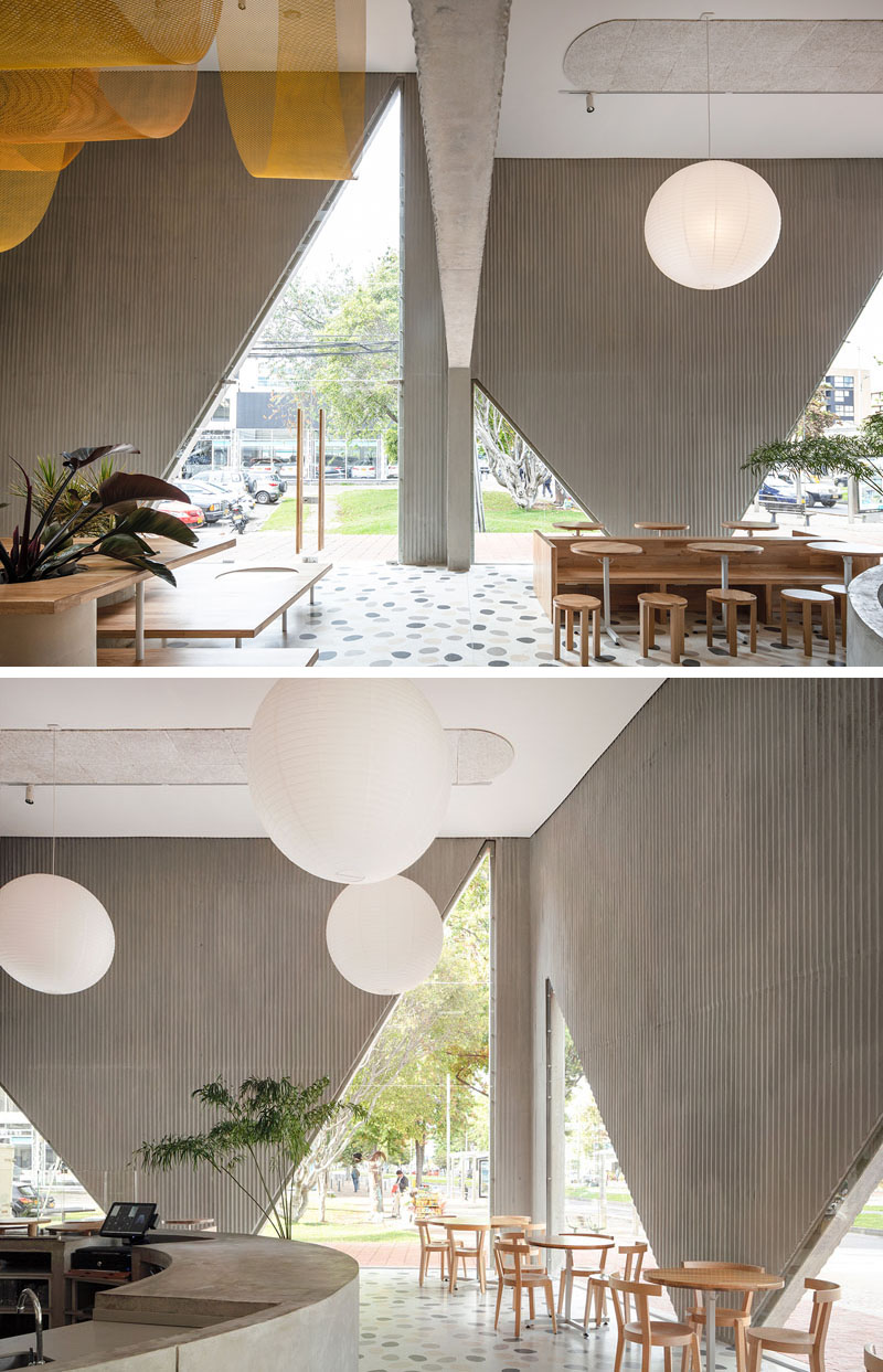 Masa Restaurant in Bogota, Colombia by Studio Cadena