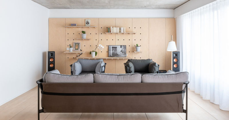 Apartment in Paris, France by SABO Project