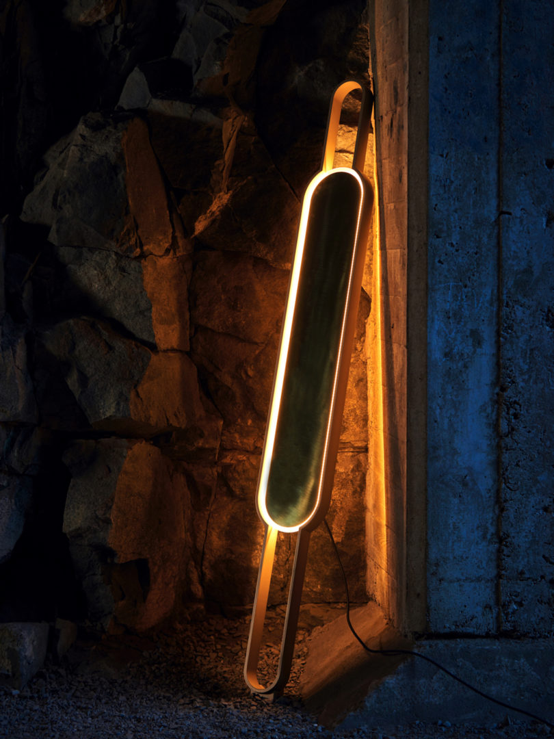 Portal Lamp by Mark Kinsley and Leigh Staten with Karice for Lake + Wells
